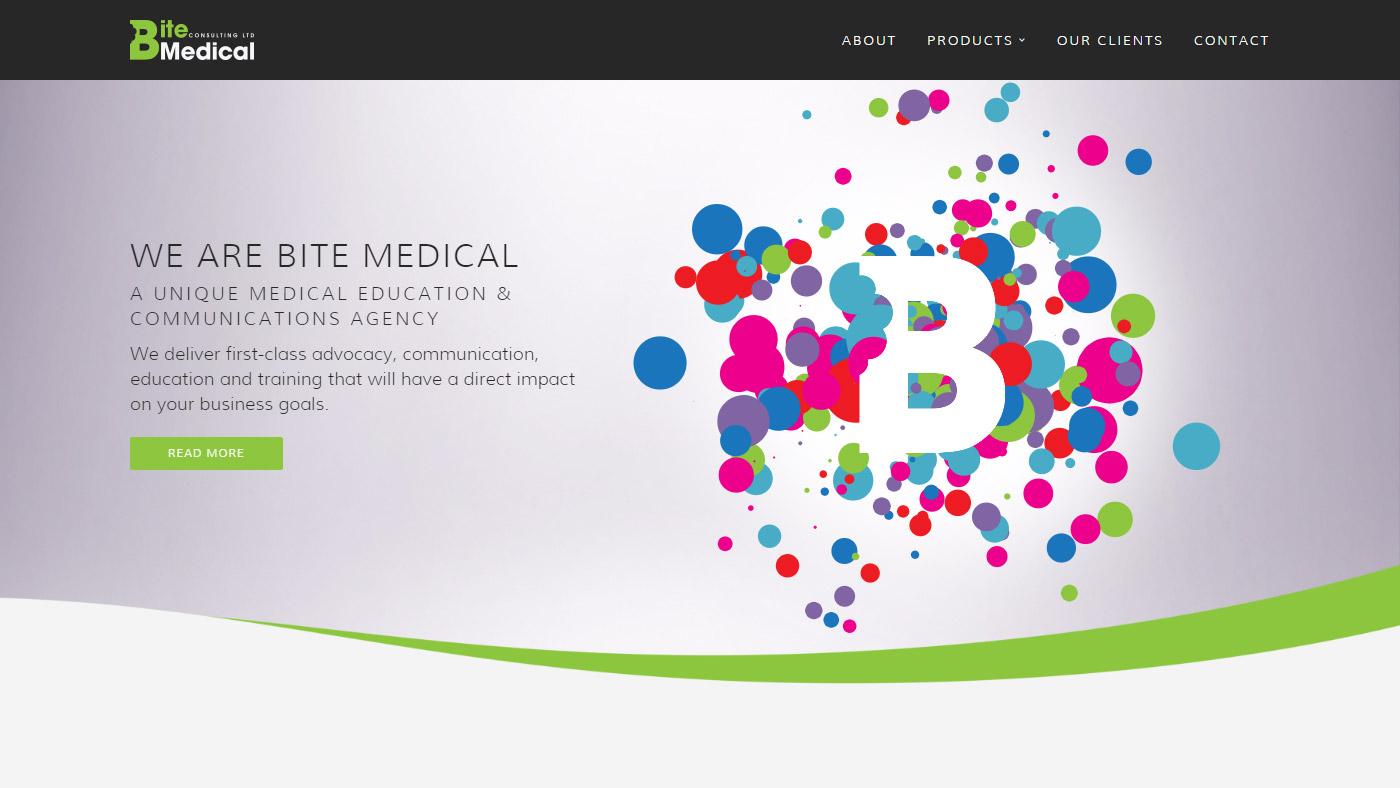 Bite Medical - Generative Animations & Website Refresh